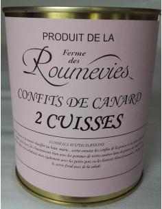Confit de Canard Roumevies - Vue 1