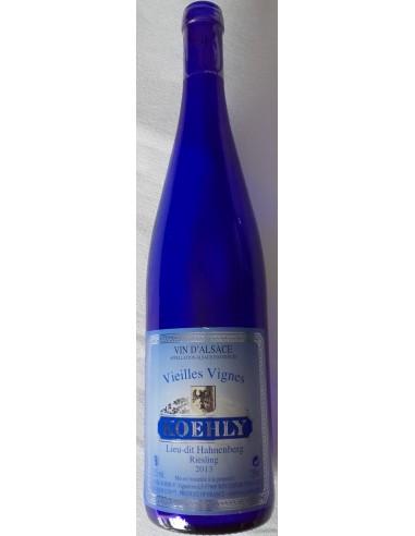 Riesling Vieilles Vignes Domaine Koehly - Bouteille bleue - Vue 1