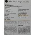 Spécialité Culinaire saveur cèpes - Vue 6 - Recette Mini Mique Burger aux Cèpes