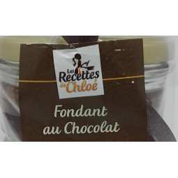 Fondant au Chocolat 80g - Les Mille sources - Vue 1