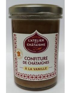 Confiture de Châtaigne à la vanille - Atelier de la Châtaigne - Vue 1 - Bocal