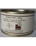 Pâté de Canard Bardenat 120 g - Vue 2