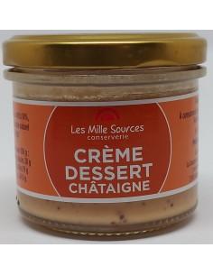 Crème Dessert à la Châtaigne 80 g