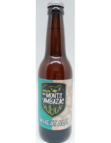 Bière Wheate Ale 33cl - Brasserie des Monts d'Ambazac - vue 1