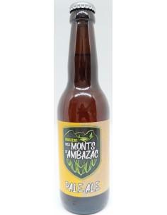 Bière Pale Ale 33 cl - Brasserie des Monts d'Ambazac - Vue 1