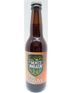 Bière Abbaye 33 cl - Brasserie des Monts d'Ambazac - Vue 1
