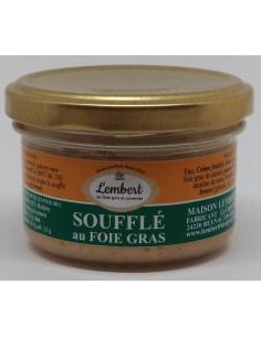 Soufflé au Foie Gras 90 g - La Maison Lembert - Vue 1