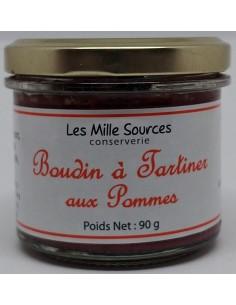 Boudin à Tartiner Aux Pommes 90 g - Les Mille Sources - photo 1