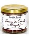 Terrine de Canard au Magret Fumé 90 g - Les Mille Sources - vue 1