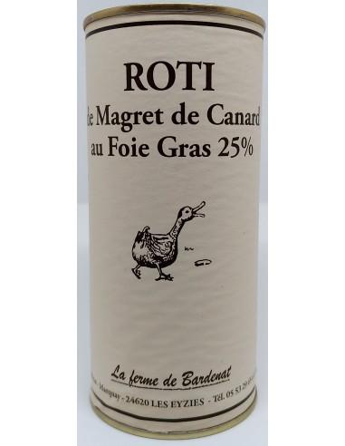 Rôti de Magret au Foie Gras - Vue 1
