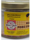 Rillette Pur Porc Cul noir du Limousin - Gilles et Julie - Vue 3