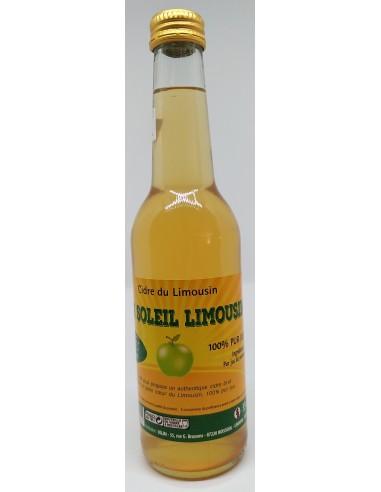 Soleil Limousin - Cidre Brut 33 cl - Vue 1
