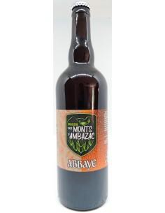 Bière Abbaye 75cl - Brasserie des Monts d'Ambazac - Vue 1