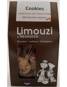 Cookie Chocolat lait feuilletine 200 g - Limouzi Saveurs - Vue 1