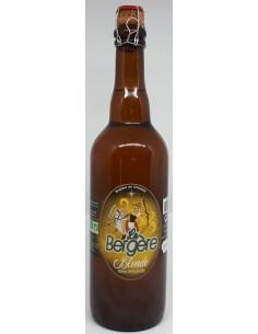 Bière Blonde BIO La Bergère - 75 cl - Vue 1