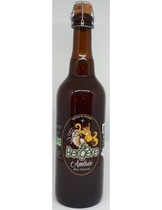 Bière Ambrée BIO La Bergère - 75 cl - Vue 1