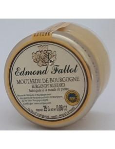Moutarde de Bourgogne Dégustation 25 g Edmond FALLOT - Vue 1