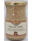 Moutarde en Grain au Vin Blanc 205 g Edmond FALLOT - Vue 1