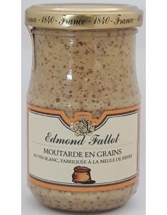 Moutarde en Grain au Vin Blanc 205 g - Edmond Fallot