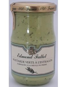 Moutarde Verte à l'Estragon 210 g Edmond FALLOT - Vue 1